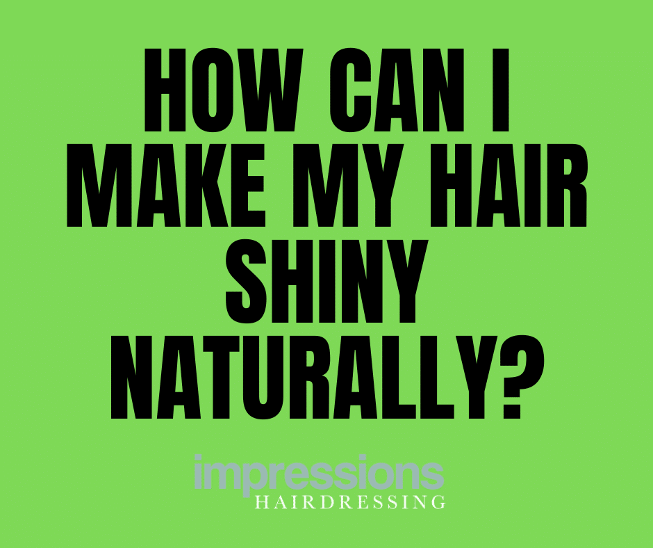 How Can I Make My Hair Shiny Naturally?